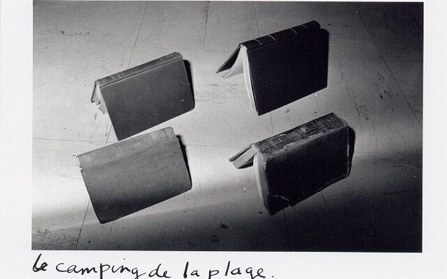Joachim Mogarra, Le camping de la plage, 1982